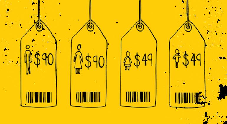 Трговина људима банер
