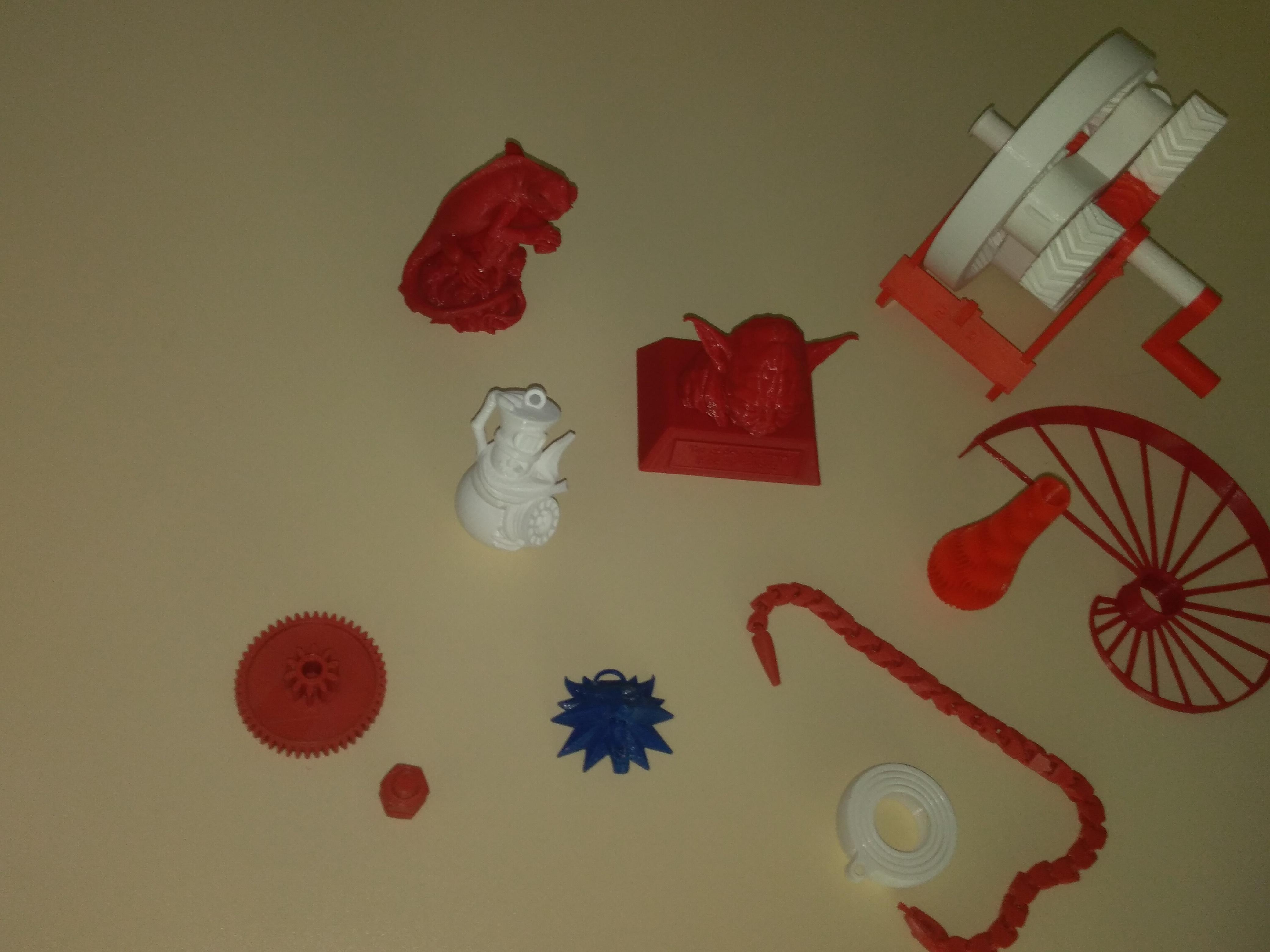 3Д штампани предмети